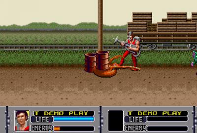Alien Storm (Sega Mega Drive) скриншот-1