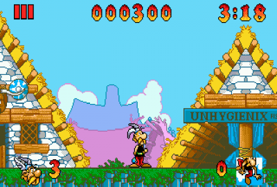 Asterix and the Great Rescue для Sega Mega Drive