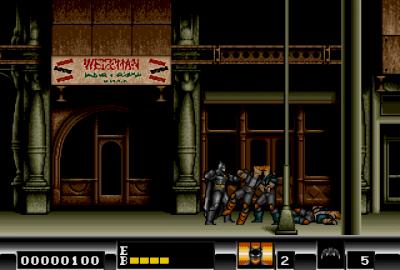 Batman (Sega Mega Drive) скриншот-1