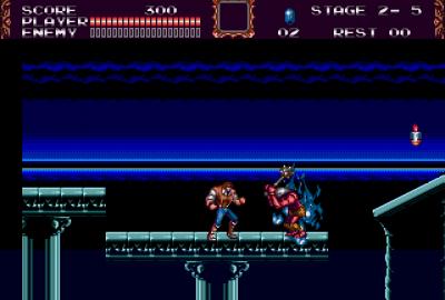 Castlevania: The New Generation (Sega Mega Drive) скриншот-1