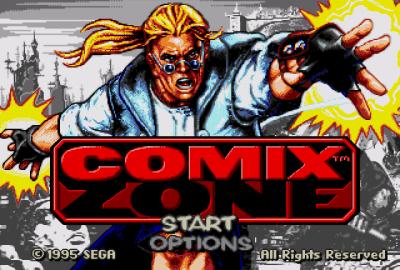 Comix Zone (Sega Mega Drive) скриншот-1