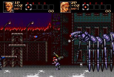 Contra: Hard Corps (Sega Genesis) скриншот-1