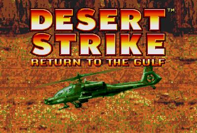 Desert Strike: Return to the Gulf (Sega Mega Drive) скриншот-1