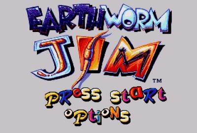 Earthworm Jim (Sega Mega Drive) скриншот-1