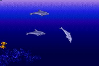 Ecco the Dolphin для Sega Genesis