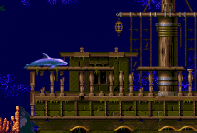 Ecco: The Tides of Time (Sega Mega Drive) скриншот-1