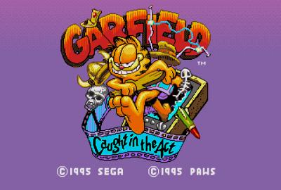Garfield: Caught in the Act (Sega Mega Drive) скриншот-1
