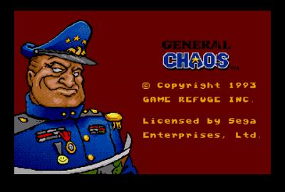 General Chaos (Sega Mega Drive) скриншот-1