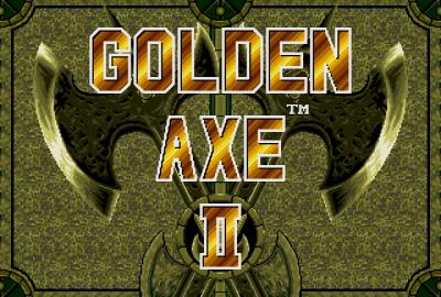 Golden Axe II (Sega Genesis) скриншот-1