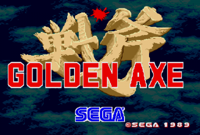 Golden Axe (Sega Mega Drive) скриншот-1
