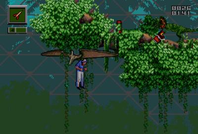Jurassic Park: Rampage Edition для Sega Mega Drive