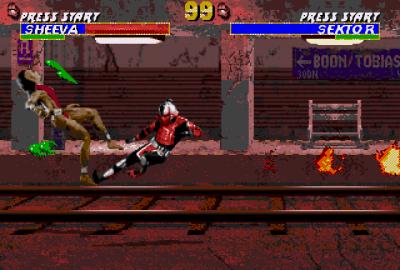 Mortal Kombat 3 (Sega Genesis) скриншот-1