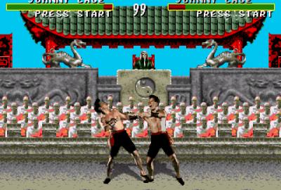 Mortal Kombat (Sega Mega Drive) скриншот-1