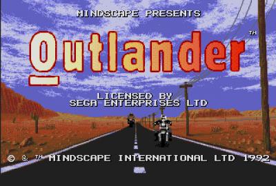 Outlander (Sega Genesis) скриншот-1