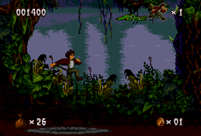 Pitfall: The Mayan Adventure для Sega Mega Drive