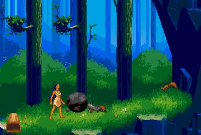 Pocahontas (Sega Mega Drive) скриншот-1