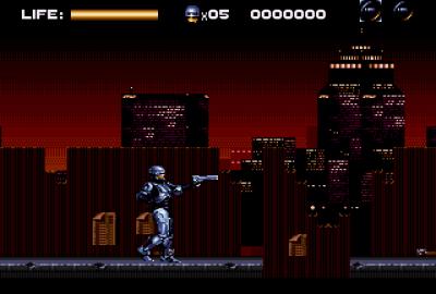 RoboCop Versus The Terminator для Sega Mega Drive