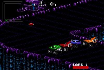 Rock 'N' Roll Racing для Sega Mega Drive