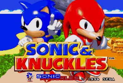 Sonic & Knuckles (Sega Genesis) скриншот-1