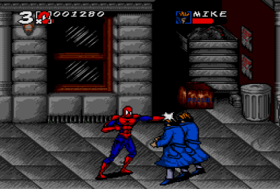 Spider-Man and Venom: Maximum Carnage (Sega Genesis) скриншот-1