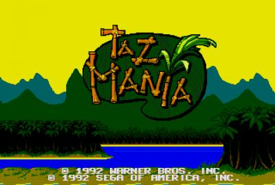 Taz-Mania (Sega Mega Drive) скриншот-1