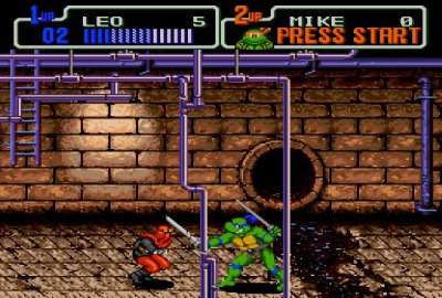 Teenage Mutant Ninja Turtles: The Hyperstone Heist (Sega Genesis) скриншот-1
