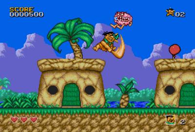 The Flintstones (Sega Mega Drive) скриншот-1