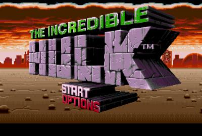 The Incredible Hulk (Sega Mega Drive) скриншот-1