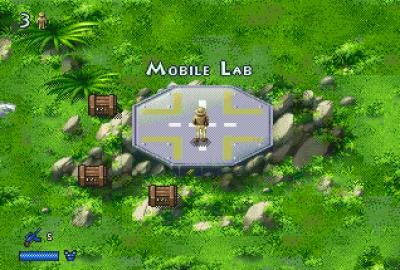 The Lost World: Jurassic Park (Sega Mega Drive) скриншот-1
