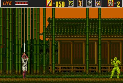 The Revenge of Shinobi (Sega Mega Drive) скриншот-1