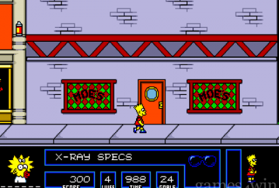 The Simpsons: Bart vs. the Space Mutants (Sega Mega Drive) скриншот-1