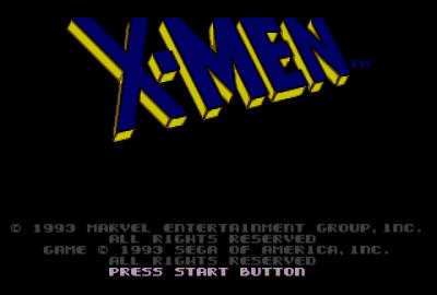 X-Men (Sega Genesis) скриншот-1