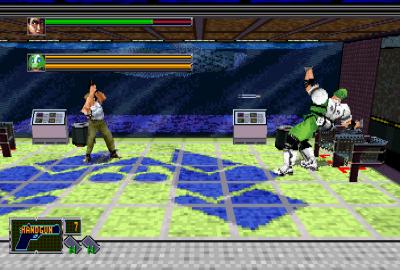 Die Hard Arcade (Sega Saturn) скриншот-1