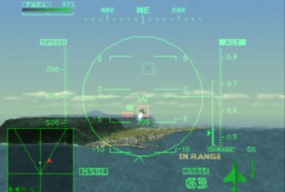 Ace Combat 2 (PS1) скриншот-1