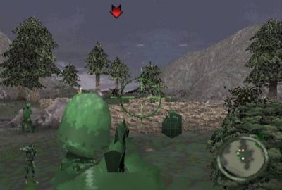 Army Men: Land, Sea, Air для Sony PlayStation 1