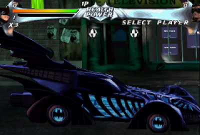 Batman Forever: The Arcade Game (PS1) скриншот-1
