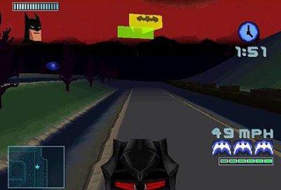 Batman: Gotham City Racer для Sony PlayStation 1