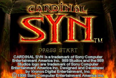 Cardinal Syn (PS1) скриншот-1