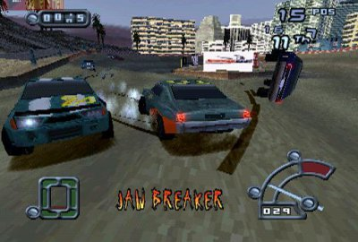 Destruction Derby Raw для Sony PlayStation 1