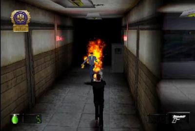 Die Hard Trilogy 2: Viva Las Vegas (PS1) скриншот-1