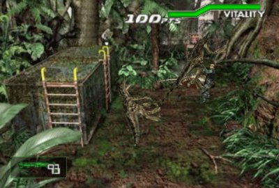 Dino Crisis 2 (PS1) скриншот-1