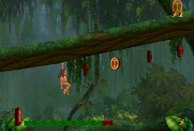 Disney's Tarzan (PS1) скриншот-1