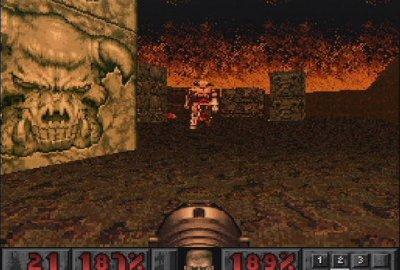 Doom (PS1) скриншот-1