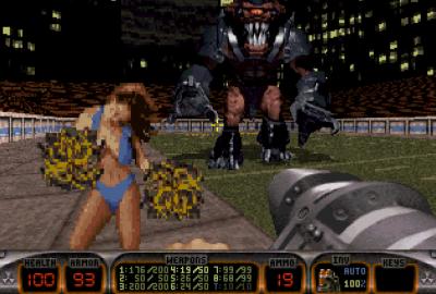 Duke Nukem (Sony PlayStation 1) скриншот-1