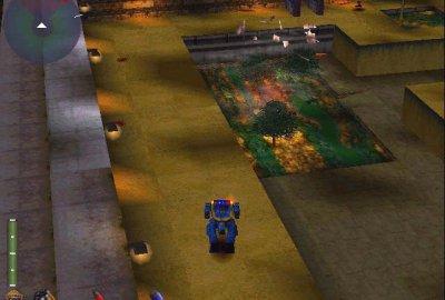 Future Cop: L.A.P.D. (PS1) скриншот-1
