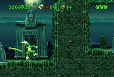 Gex (PS1) скриншот-1