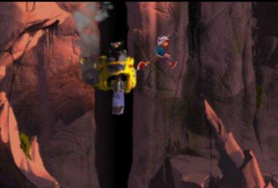 Heart of Darkness для Sony PlayStation 1 скриншот-1