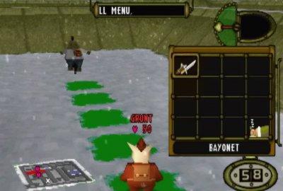Hogs of War (PS1) скриншот-1