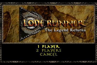 Lode Runner (PS1) скриншот-1