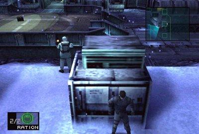 Metal Gear Solid (PS1) скриншот-1